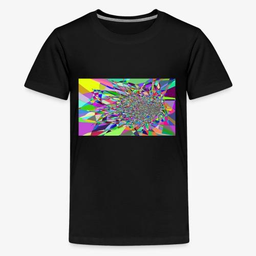 Modern Art Polygon - Kids' Premium T-Shirt