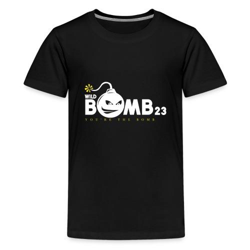 WildBomb23 White - Kids' Premium T-Shirt