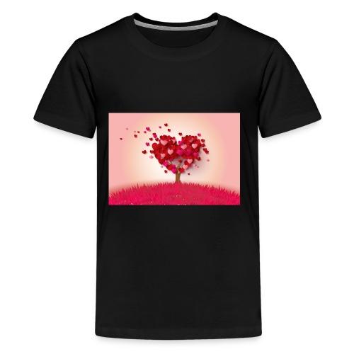 Heart Love Tree - Kids' Premium T-Shirt