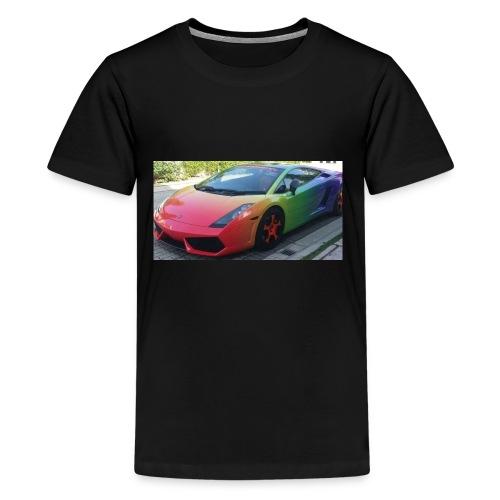 Lamborghini long sleeve - Kids' Premium T-Shirt
