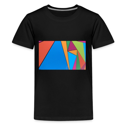 Colorful Geometry - Kids' Premium T-Shirt