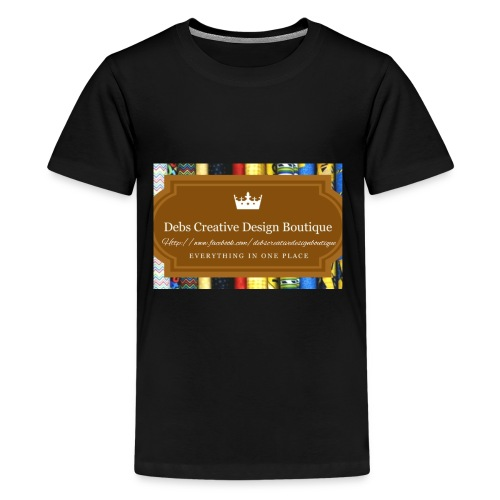Debs Creative Design Boutique with site - Kids' Premium T-Shirt