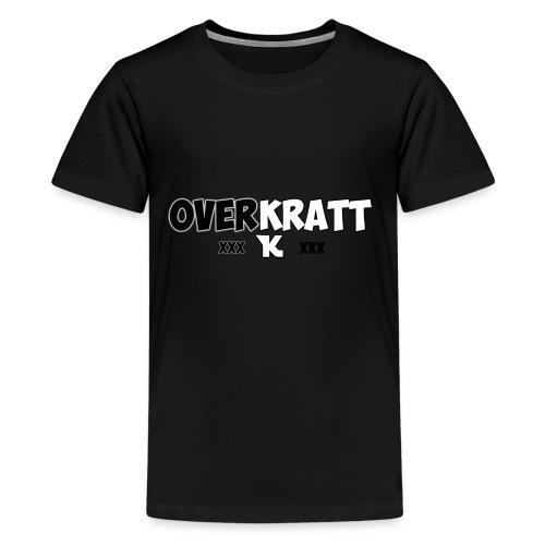 overkratt words and logo - Kids' Premium T-Shirt