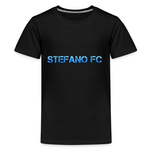 Blue Stefano FC Text - Kids' Premium T-Shirt
