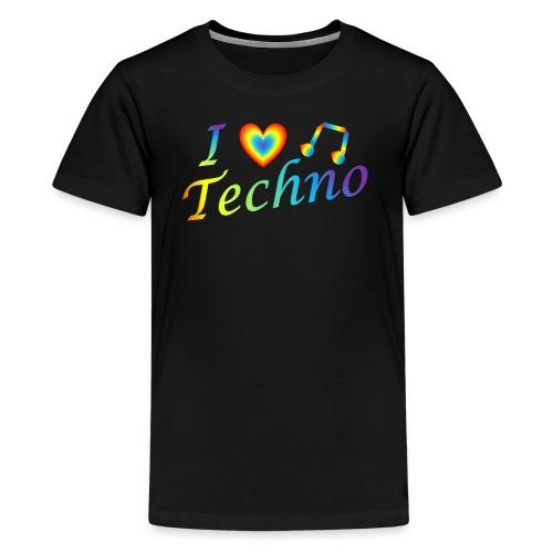 I LOVETECHNO MUSIC - Kids' Premium T-Shirt