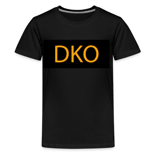 DKO orange and black - Kids' Premium T-Shirt