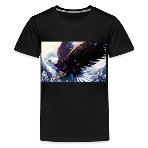 Art of the eagle - Kids' Premium T-Shirt
