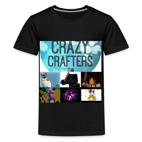The crazy crafters - Kids' Premium T-Shirt