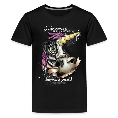 unicorn breakout - Kids' Premium T-Shirt