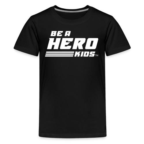 BHK secondary white TM - Kids' Premium T-Shirt
