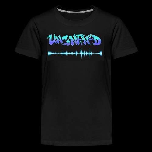 unconfined design1 - Kids' Premium T-Shirt