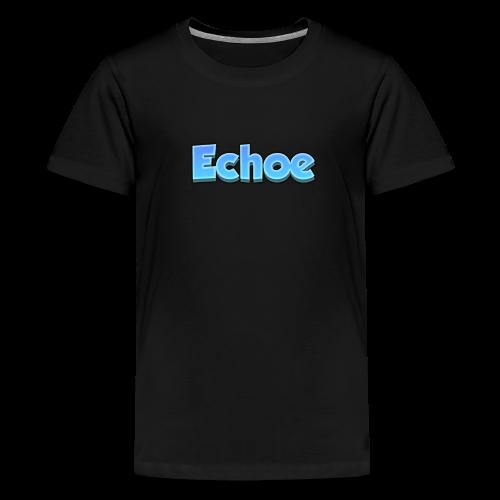 Echoe's Text Logo - Kids' Premium T-Shirt