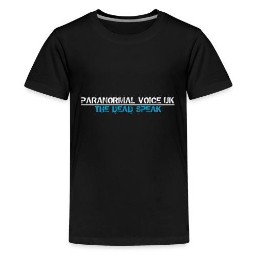 PARANORMAL VOICE UK +SIZE HOODY - Kids' Premium T-Shirt