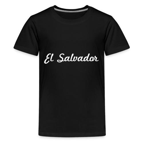 Heart El Salvador - Kids' Premium T-Shirt