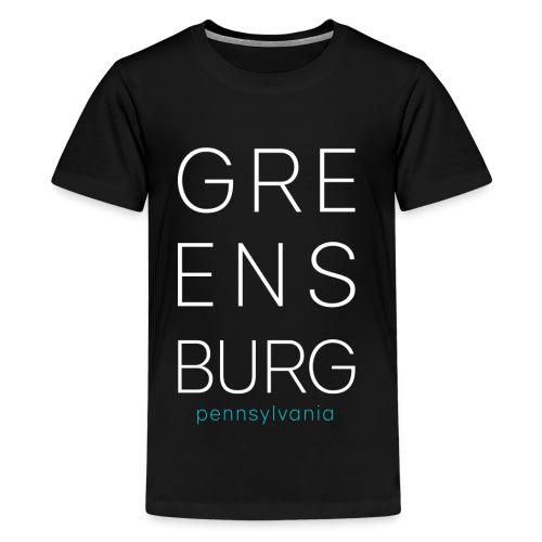 Greensburg Dark Gray Tee - Kids' Premium T-Shirt