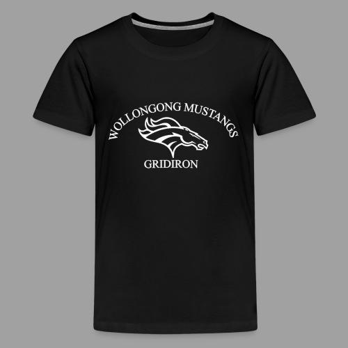 OG Mustang White - Kids' Premium T-Shirt