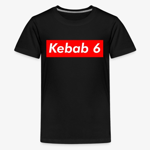 Kebab 6 box logo - Kids' Premium T-Shirt