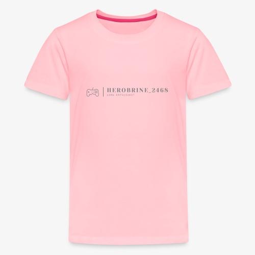 Instagrammer HeroBrine__2468's Logo - Kids' Premium T-Shirt