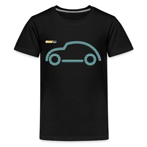 oldimer silhouette green - Kids' Premium T-Shirt