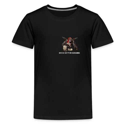 dicks out for harambe - Kids' Premium T-Shirt