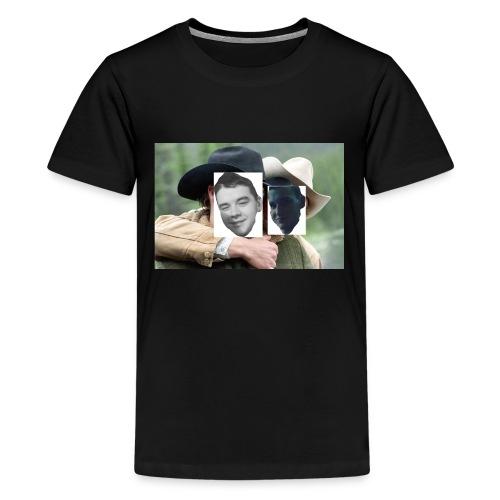 Darien and Curtis Camping Buddies - Kids' Premium T-Shirt