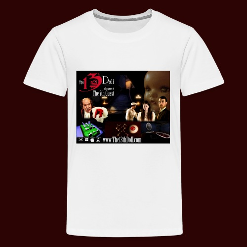 The 13th Doll Cast and Puzzles - Kids' Premium T-Shirt