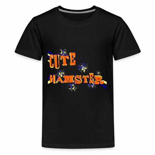 cute hamster - Kids' Premium T-Shirt