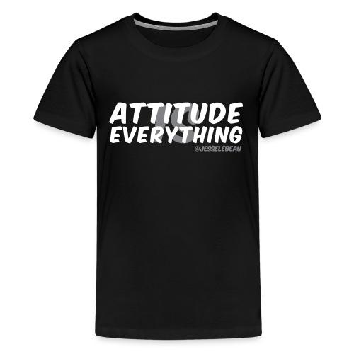 AIE Attitude Overlay White - Kids' Premium T-Shirt