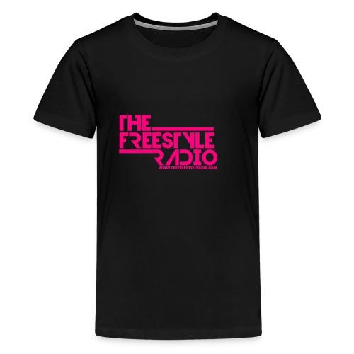 pink design logo 2018 - Kids' Premium T-Shirt