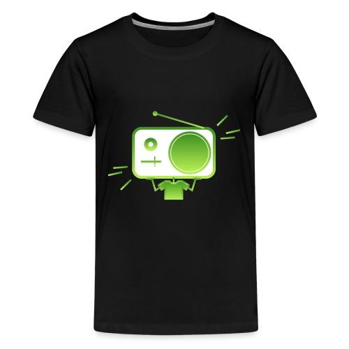 MusiqHead Green Ver 4 - Kids' Premium T-Shirt