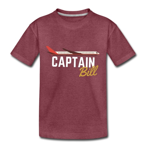 Captain Bill Avaition products - Kids' Premium T-Shirt