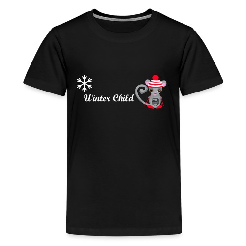 Mountain Winter Fairy - Kids' Premium T-Shirt