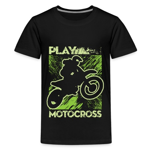 Dirt Bike Play Dirty - Kids' Premium T-Shirt