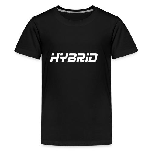 Hybrid Black Hoodie - Kids' Premium T-Shirt