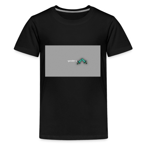 backgrounder-3- - Kids' Premium T-Shirt