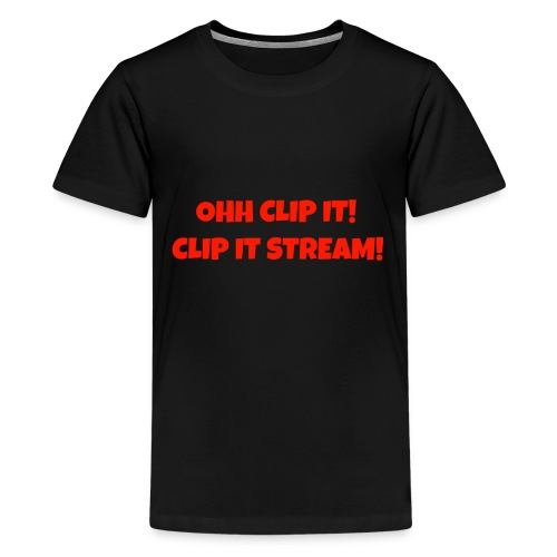 OHH CLIP IT Design - Kids' Premium T-Shirt