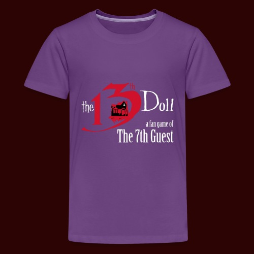 The 13th Doll Logo - Kids' Premium T-Shirt