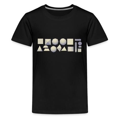 Anyland shapes - Kids' Premium T-Shirt