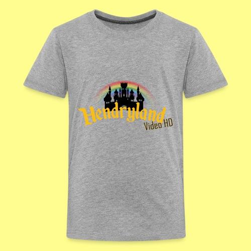 HENDRYLAND logo Merch - Kids' Premium T-Shirt