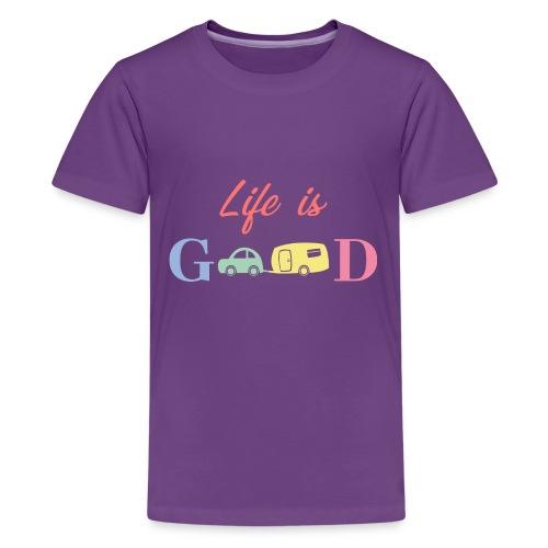 Life Is Good - Kids' Premium T-Shirt