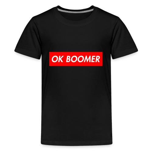 ok boomer merch - Kids' Premium T-Shirt