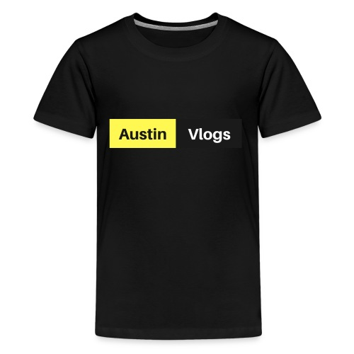 Austin Vlogs Merch - Kids' Premium T-Shirt
