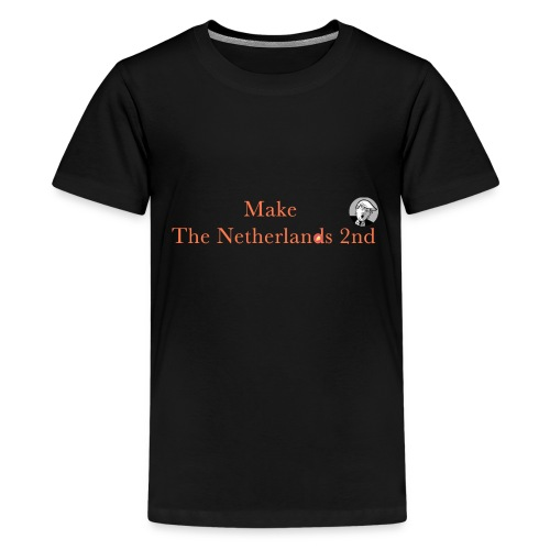 Make The Netherlands 2nd - Kids' Premium T-Shirt
