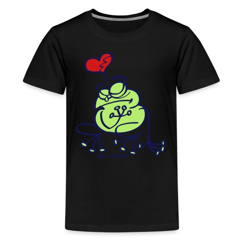 Broken Hearted Frog - Kids' Premium T-Shirt
