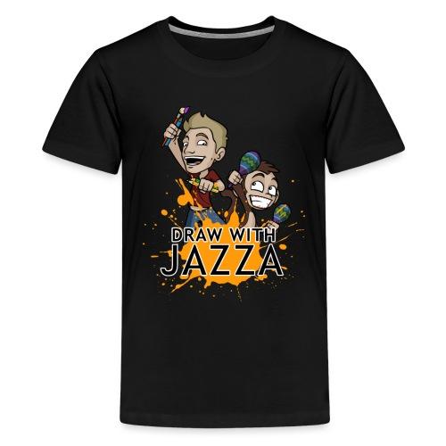 Draw With Jazza - Kids' Premium T-Shirt