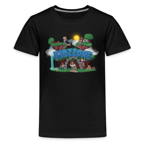 KidzZone Logo - Kids' Premium T-Shirt