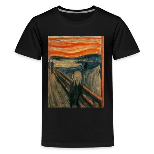 The Scream (Edvard Munch) - Kids' Premium T-Shirt