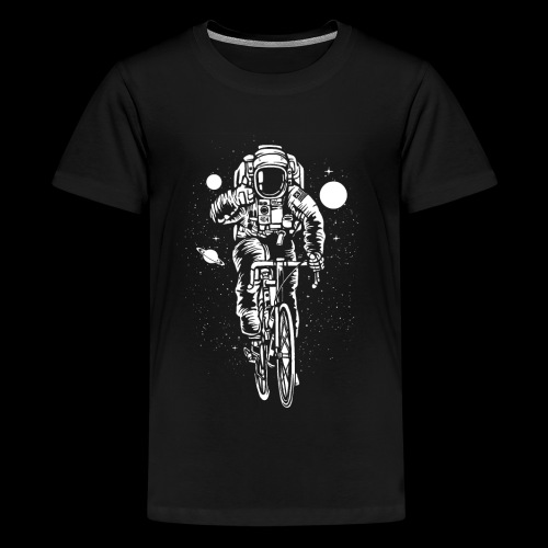 Space Cyclist - Kids' Premium T-Shirt