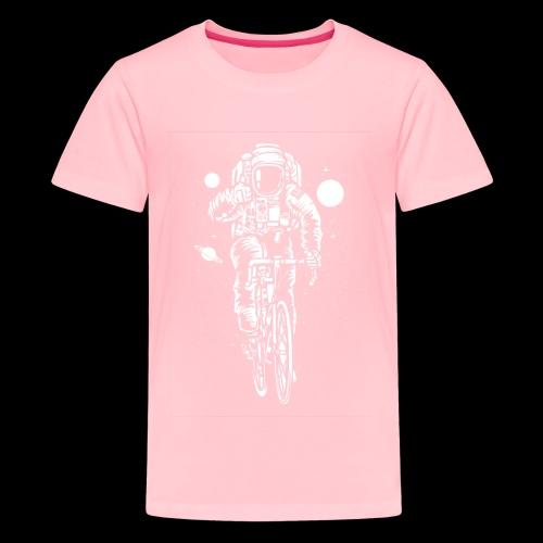Space Cyclist - Kids' Premium T-Shirt