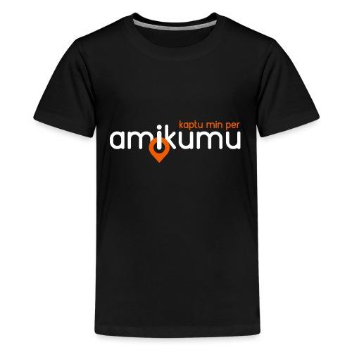 Kaptu min per Amikumu Blanka - Kids' Premium T-Shirt